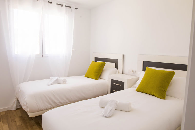 atico turistico altea dormitorio doble