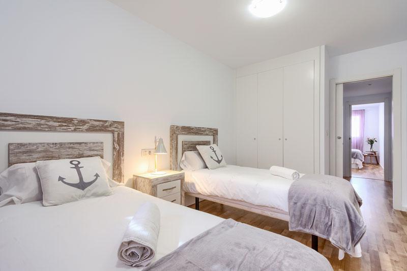 casco antiguo apartamento turistico altea dormitorio 2 camas