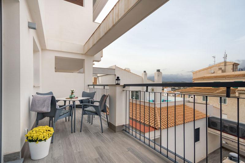 casco antiguo apartamento turistico altea con terraza
