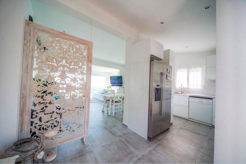 villa bluemed altea cocina equipada