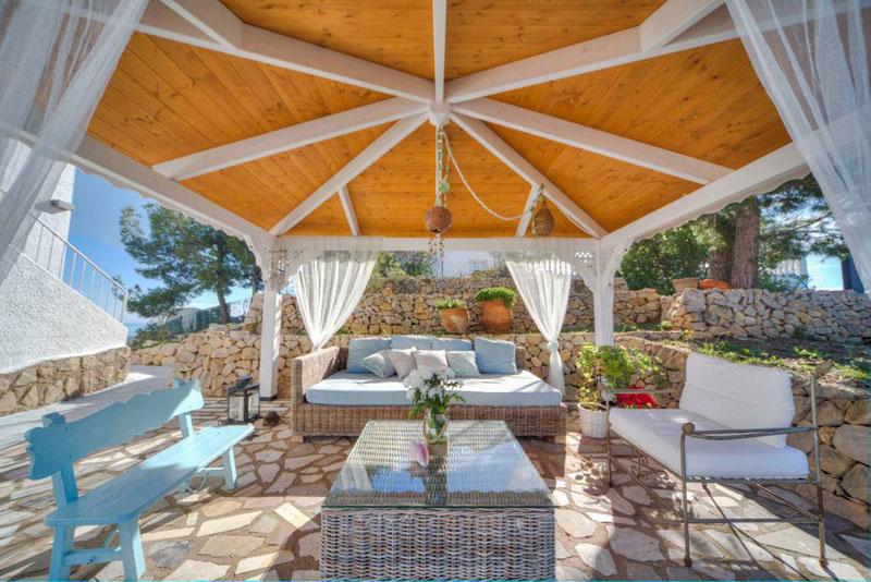 villa bluemed altea excelente jardin